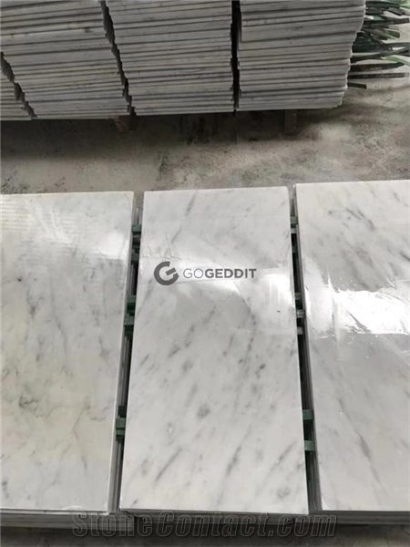Bianco Carrara White Marble Kitchen Floor Tile From China Stonecontact Com