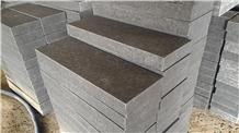 Vietnam Black Basalt Kerb Stone
