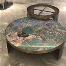 Amazon Green Granite,Verde Amazonas Granite Table