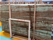 Bamboo Onyx , Emerald Green Onyx Slab&Tiles