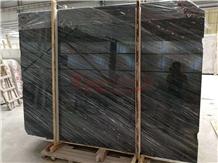 Cartier Dark Grey Wooden Marble Slabs
