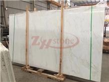Cary Ice Marble, Rhino White Marble Slabs