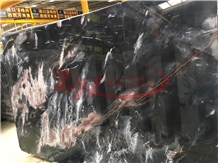 Fantasy Black ,Venice Golden Gray Marble Slabs
