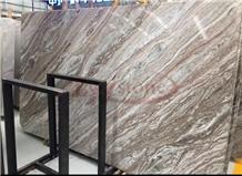 Fantasy Brown Marble Slab,Glacier Sands Marble