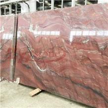 Fusion Fire,Revolution Fire Red Quartzite Slabs