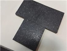 Hone Platinum Black Granite Tile Sub G684