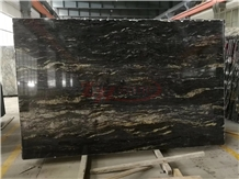 Nebula Black,Universe Black Granite for Countertop