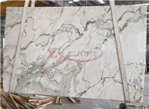 New Carrara Statuario, Pangbei White Marble Slabs