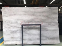 New Kenya Light Grey Marble Slab