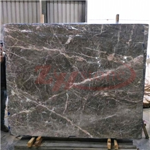 Pascal Gray Marble ,New Fior Di Pesco Marble Slabs