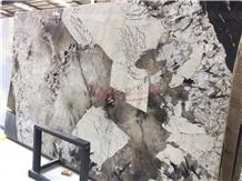 Patagonia Granite Slabs, Blanc Du Blanc Granite
