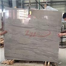 Silver Grey Dragon,Grey Wooden Grain Marble Slabs