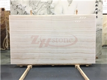 Tiger White ,Wooden White Onyx Slab Background