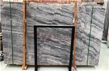 Van Gogh Grey Marble Slab for Wall Tile