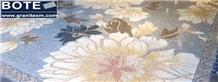 Marble Mosaic Medallions Carpet Decorative Arts