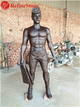 China Supplier Bronze Solider Statue