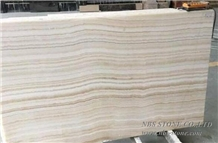 Tiger White Onyx/ White Onyx with Straight Veins