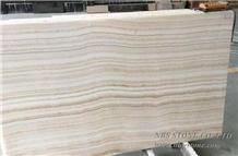 Tiger White Onyx/ White Onyx with Straight Veins