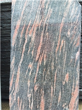 China Multicolor Red Granite Slabs
