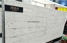 River White Granite Look Quartz Stone,Caesarstone