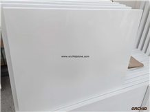 Super White Marble Quartz Stone for Countertop