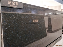 Volga Blue Quartz Stone Slabs & Tile,Solid Surface