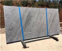 Grey Sahara Marble Slabs, Morocco Grey Marble Slab