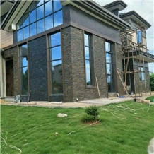 Culture Black Stone Ledge Wall Stone Veneer