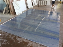 Azul Macaubas Quartzite Slab Luxury Natural Stone