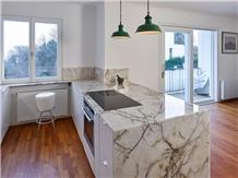 Lumix Quartzite Kitchen Island Top