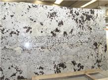 Alaska White Granite Slabs Tiles