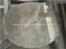 Castle Grey Marble Coffee Table Top