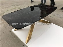 Nero Marquina Dark Grey Marble for Table Tops