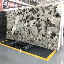 Brazil Granite Original Slabs Luxury Blue Alaska