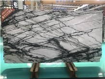Clivia White-Green Marble Slabs Cheap Factory Marble