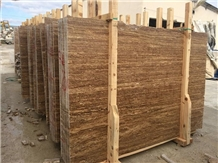 Noche Travertine Tiles&Slabs,Walnut Travertine