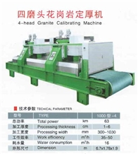 4-Head Granite Calibrating Machine