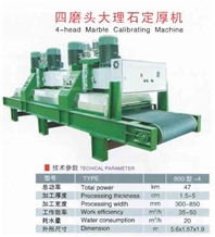 4-Head Marble Calibrating Machine