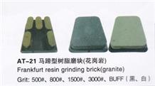 Frankfurt Resin Grinding Brick for Granite
