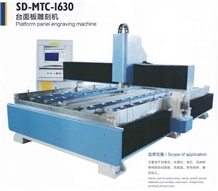 Platform Panel Engraving Machine