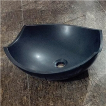 Black Granite Kitchen,Bathroom Sinks Wash Basins