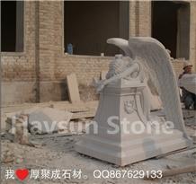 Weeping Angel Memorial Monument Statue/Sculpltures