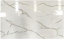 Calacatta Artificial Quartz Stone Slab