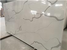 Calacatta Artificial Stone Quartz Slab 3200x1600mm