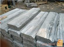 Negro Santiago Granite Kerbstone for Public Use