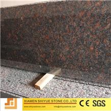 Polished Red Brown Granite Slab and Flooring Tiles, Tan Brown Granite
