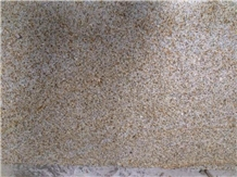 Shandong Yellow Rusty G350 Granite Tile