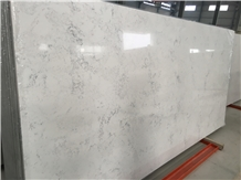 White Jade Polished Artificial Stone Quartz Stone