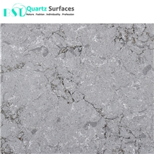 20mm Turb Grey Caesar Stone Artificial Quartz Slab