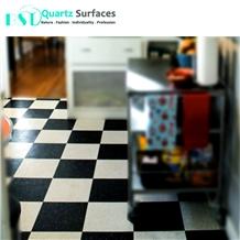 Black Starlight Artificial Quartz Stone for Tile